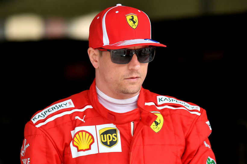 Kimi Räikkönen var fljótastur í gær sem og á lokaæfingunni ...