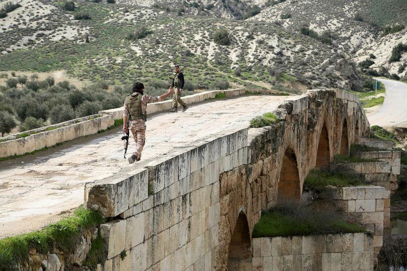 Frá Afrin í Sýrlandi.