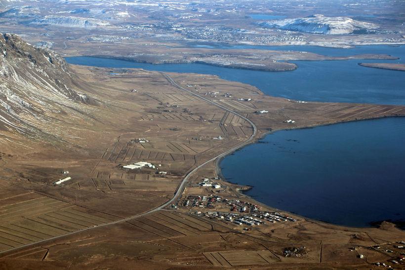 Hreiðar Karlsson hefur búið á svæðinu í að verða þrjátíu ...