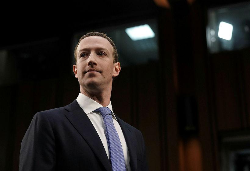 Mark Zuckerberg kom fyrir þingnefnd á Bandaríkjaþingi síðdegis að íslenskum ...