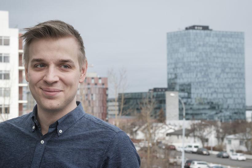 Eiríkur Heiðar Nilsson vaknar á undan flestu fólki.