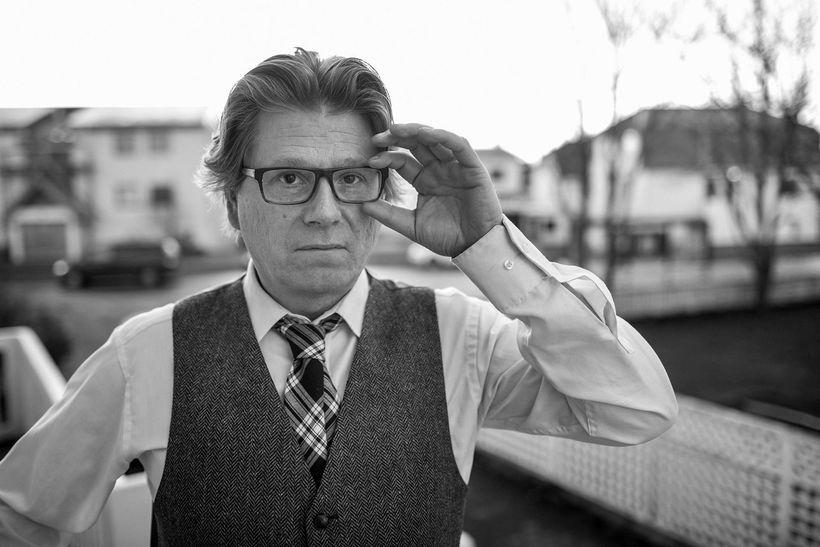 Dr. Eiríkur Bergmann stjórnmálafræðingur.