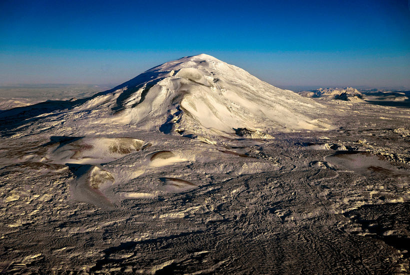 Mount Hekla, Iceland's most famous volcano.