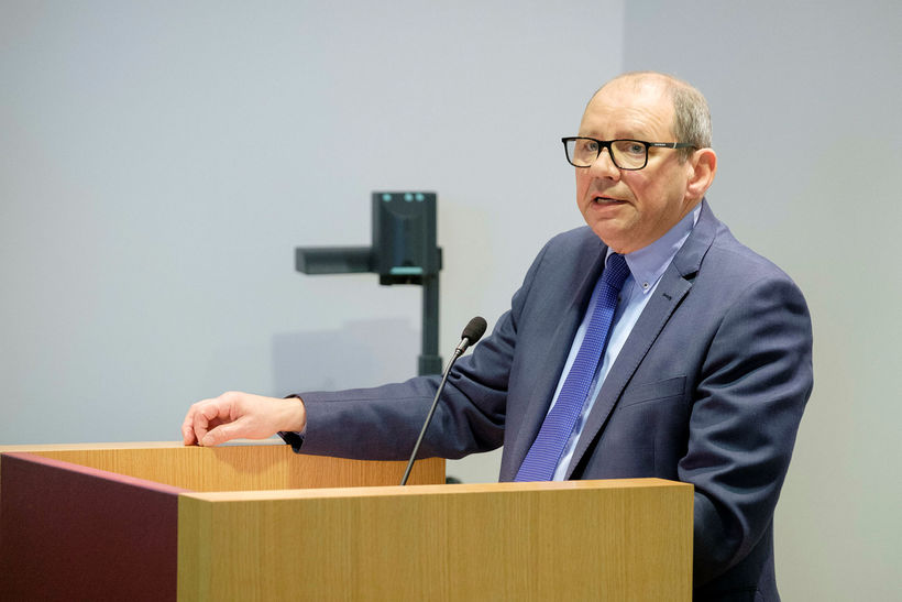 Former Ambassador Albert Jónsson.