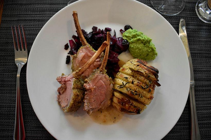 A gourmet version of an Icelandic Sunday dinner.