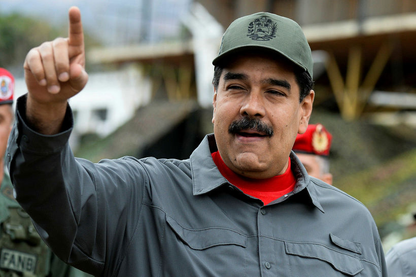 Nicolas Maduro forseti Venesúela.