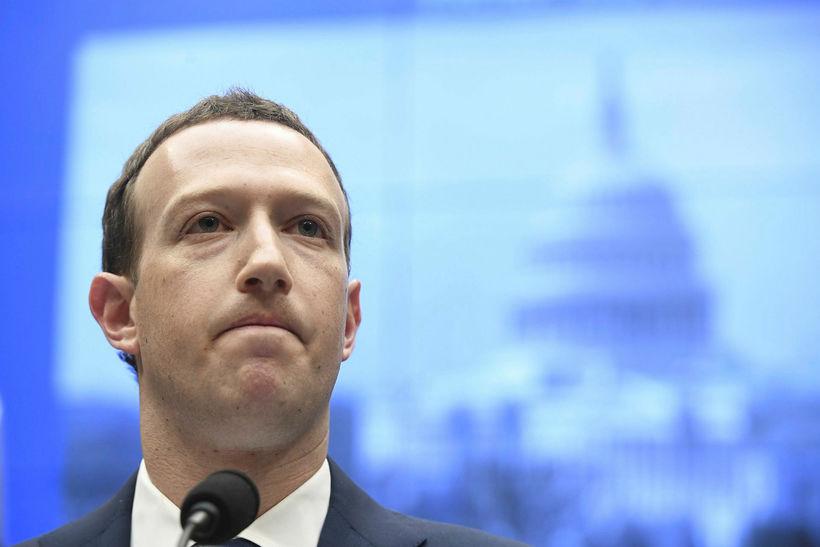 Stofnandi og forstjóri Facebook, Mark Zuckerberg.