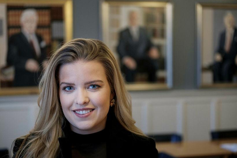 Áslaug Arna Sigurbjörnsdóttir, formaður utanríkismálanefndar Alþingis.