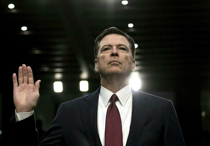 Donald Trump rak James Comey úr starfi forstjóra FBI fyrir ...