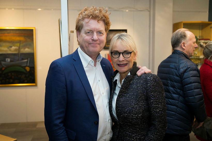Gísli Gíslason og Jóhanna Björnsdóttir.