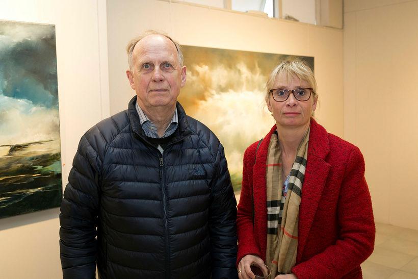 Brynjólfur Halldórsson og Guðrún Brynjólfsdóttir.
