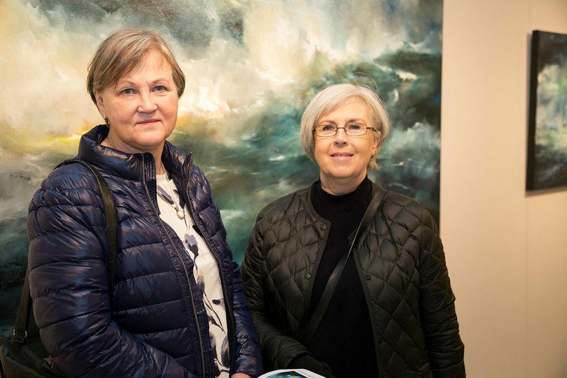 Edda Sjöfn og Erla Halldórsdóttir.