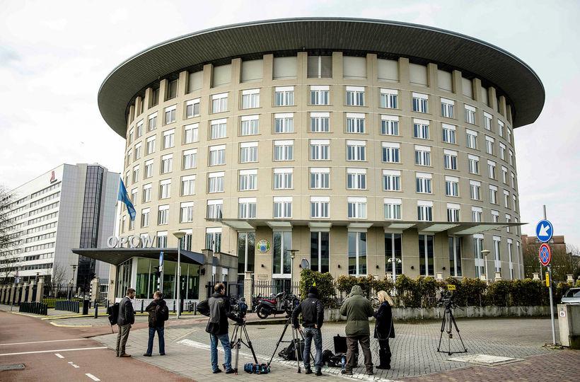 Höfuðstöðvar OPCW eru í Haag.