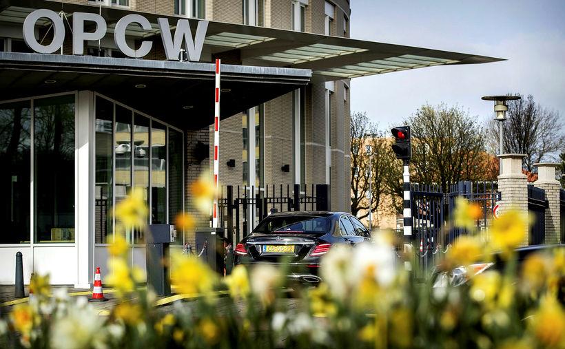 Höfuðstöðvar OPCW eru í Haag. Skammstöfunin stendur fyrir Organisation for ...