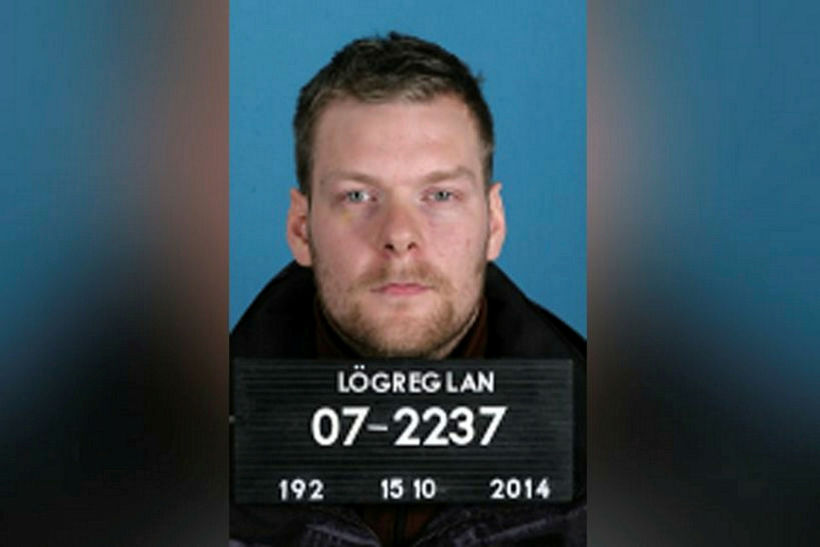 Sindri Þór Stefánsson escaped from Iceland on Wednesday morning taking ...