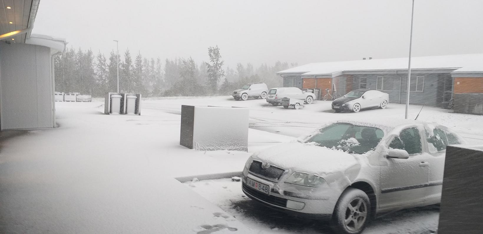 Akureyri í dag.
