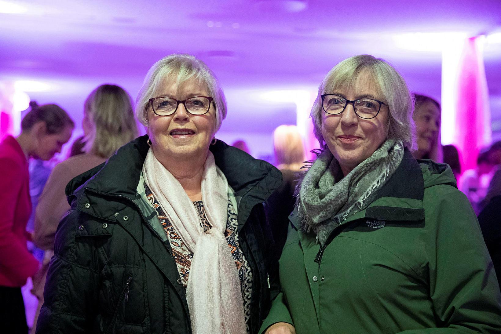 Birna Ingimarsdóttir og Guðrún Kristinsdóttir.
