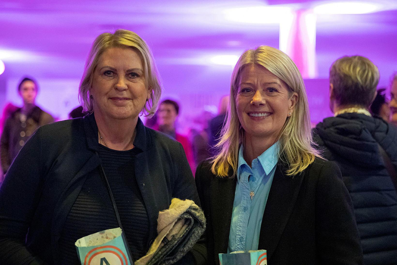 Rós Guðmundsdóttir og Jóna Hilmisdóttir.