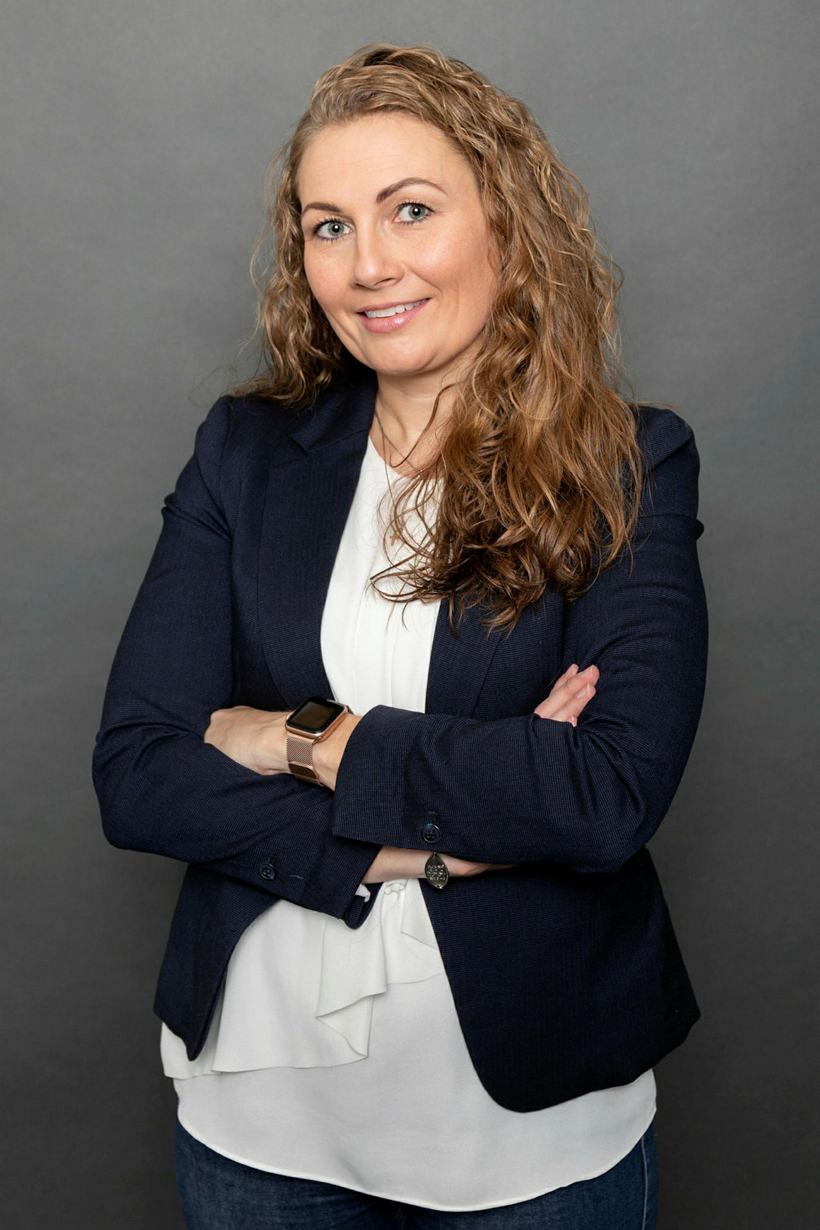 Freyja Leópoldsdóttir.