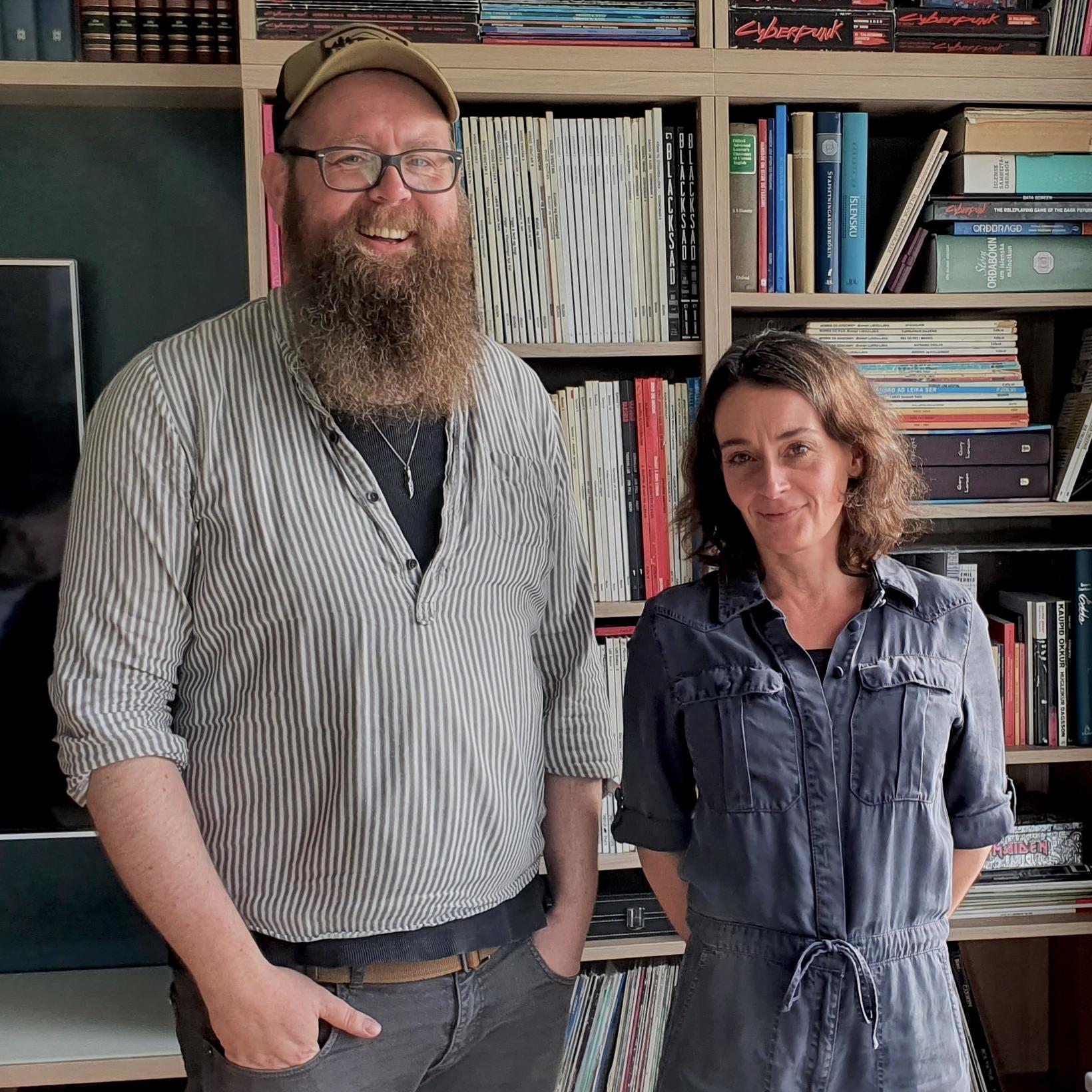 Snæbjörn Ragnarsson og Brynhildur Guðjónsdóttir.