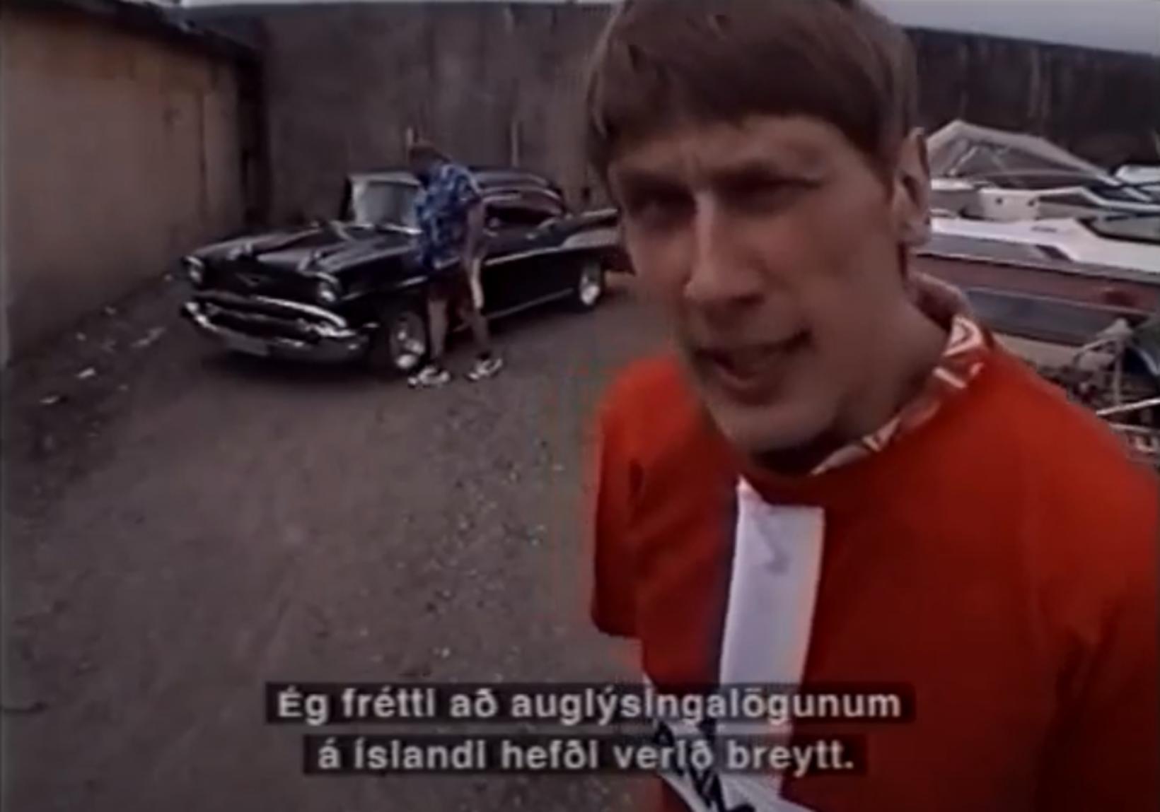 Danskir bjórdrykkjumenn voru fastagestir í Thule-auglýsingum um hríð.