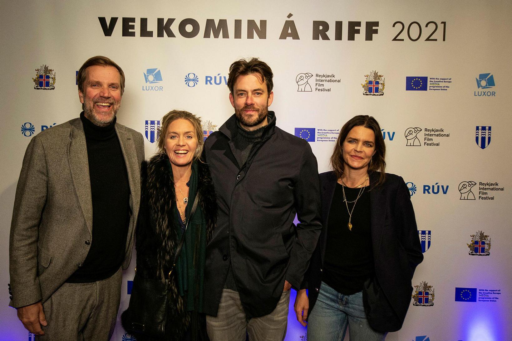 Þorsteinn Backman, Nína Dögg, Gísli Örn, Silja Hauksdóttir.