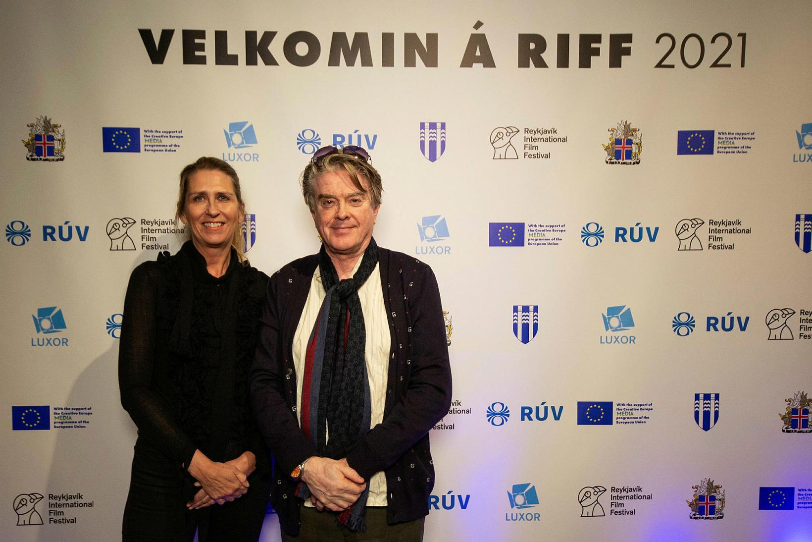 Hrönn Marinósdóttir og Sigurjón Sighvatsson.