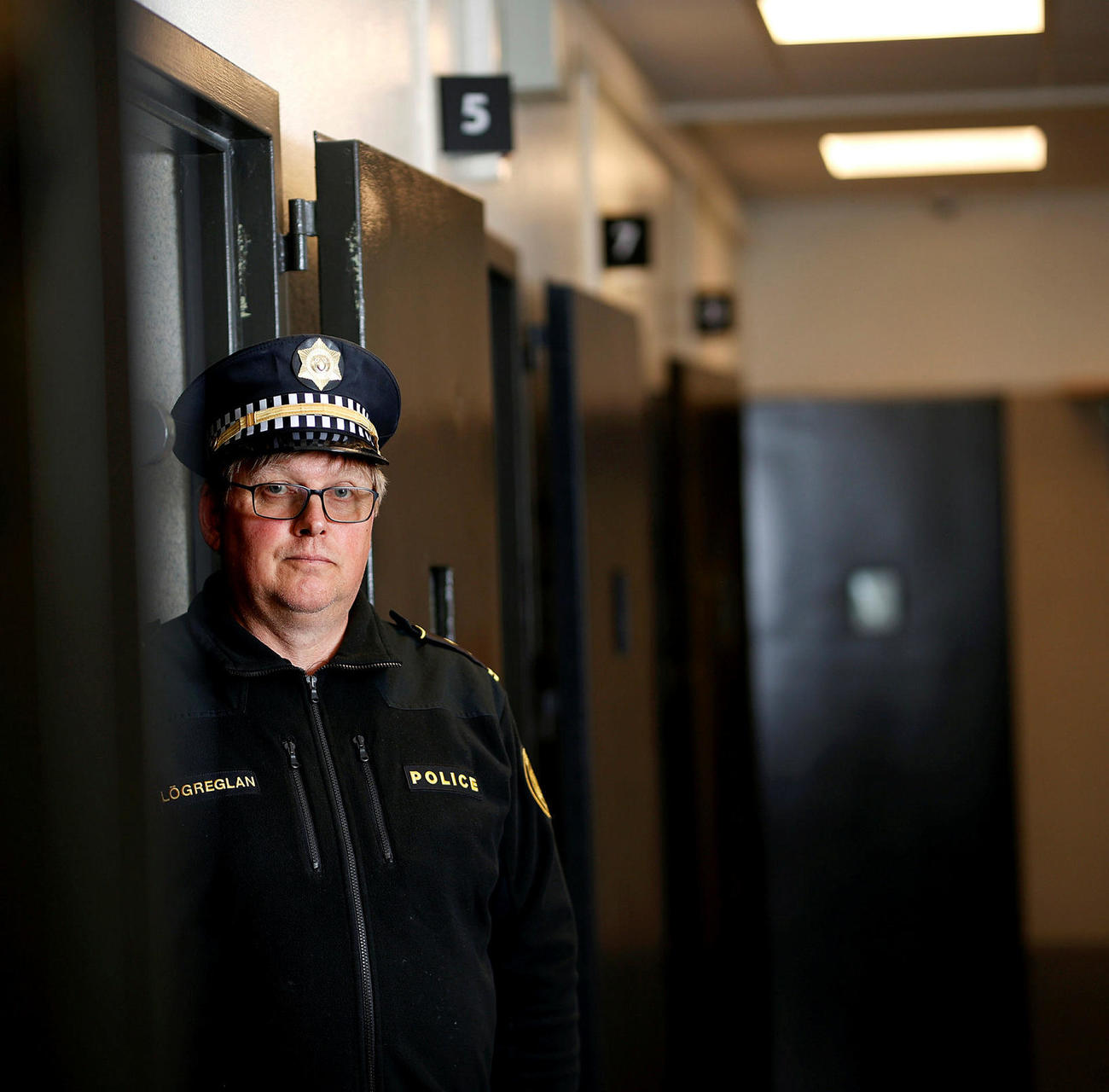 Jóhann Karl Þórisson aðstoðaryfirlögregluþjónn.