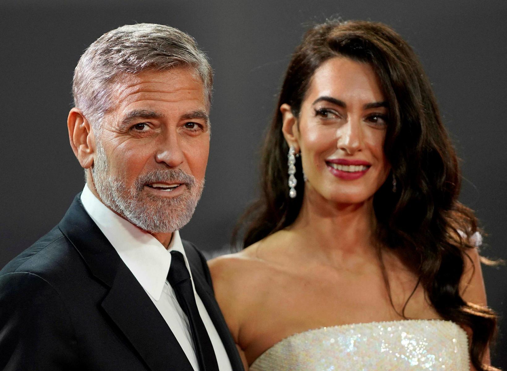 Clooney hjónin.