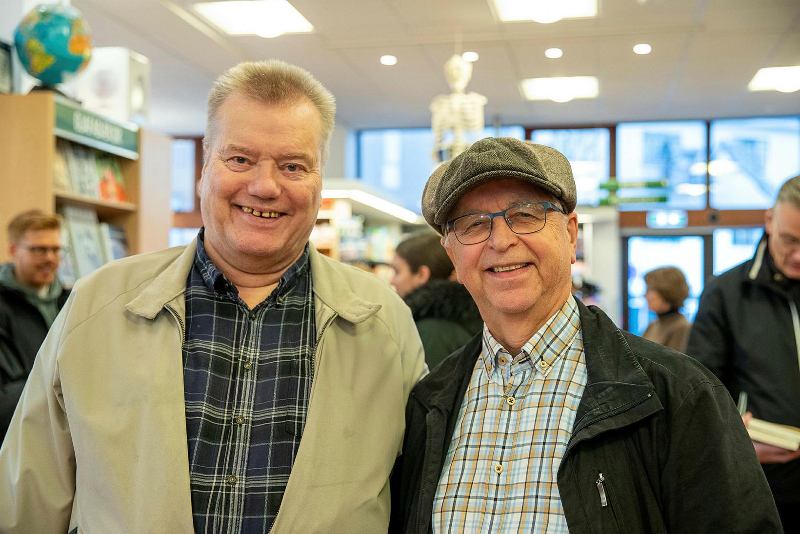 Jens Baldursson og Erlingur Hansson.
