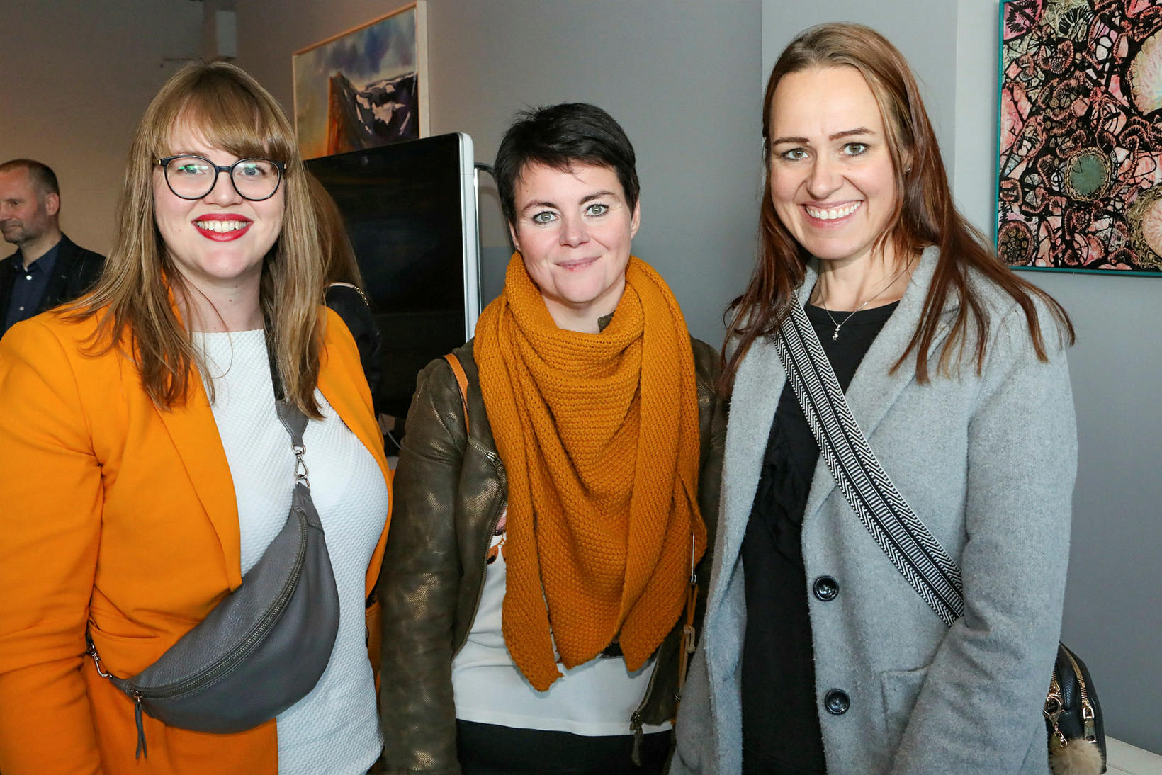 Ásdís Eir Símonardóttir, Hildur Jóna Bergþórsdóttir og Rut Eiríksdóttir.