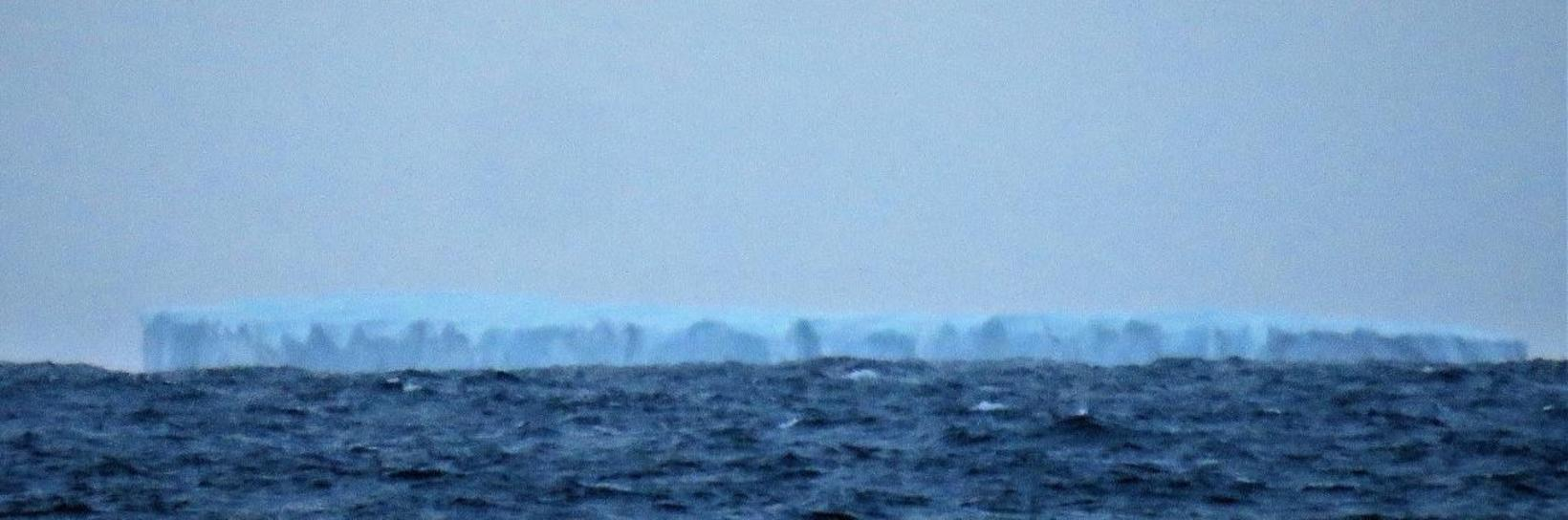 One of the two icebergs.