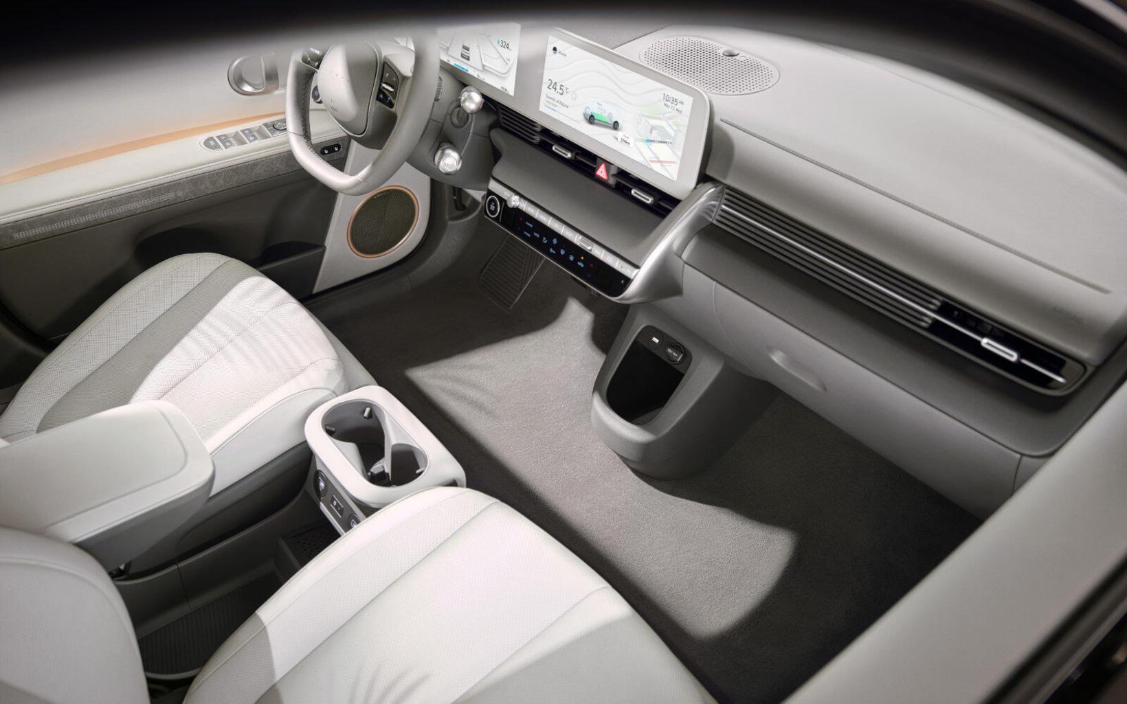 Nýr Hyundai Ioniq 5 er framúrstefnulegur.