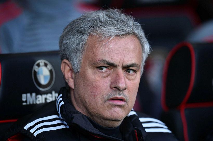 José Mourinho var sáttur í kvöld.