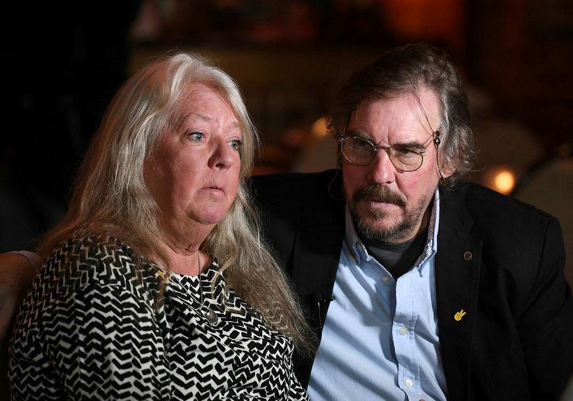 Ingrid Wall og Joachim Wall, foreldrar Kim Wall.