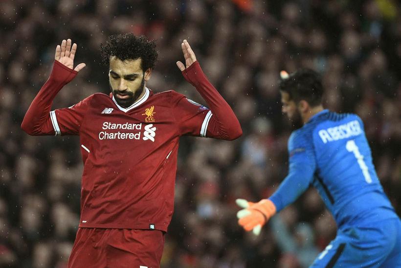 Salah fagnaði ekki gegn sínum gömlu félögum í Roma í ...