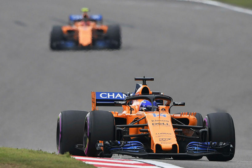 Of mikið loftviðnám er í bíl McLaren.
