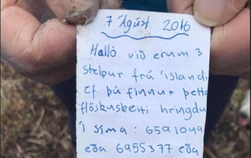Það er með ólíkindum að Vignir hafi gefið flöskunni gaum ...