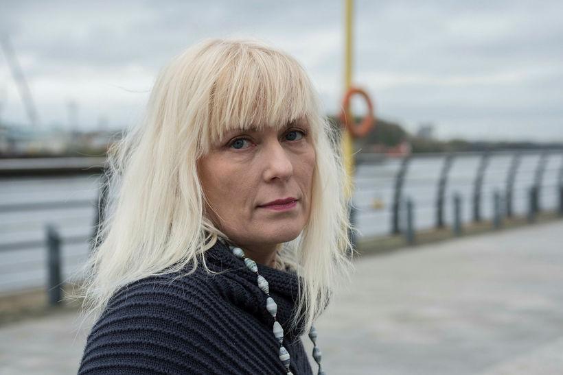Eva Hauksdóttir, móðir Hauks Hilmarssonar.