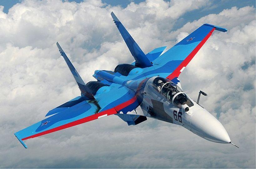Su-30SM herflugvél.