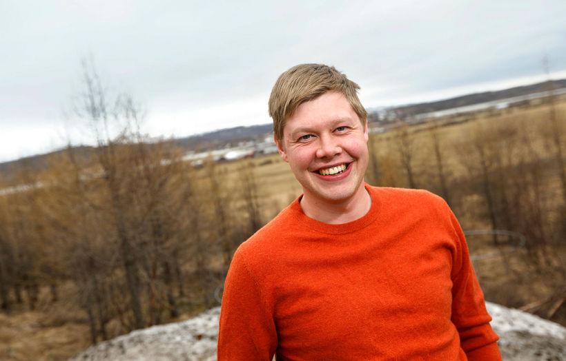 Gunnar Gunnarsson, ristjóri Austurfréttar og áhugamaður um austfirsk sveitarstjórnarmál.
