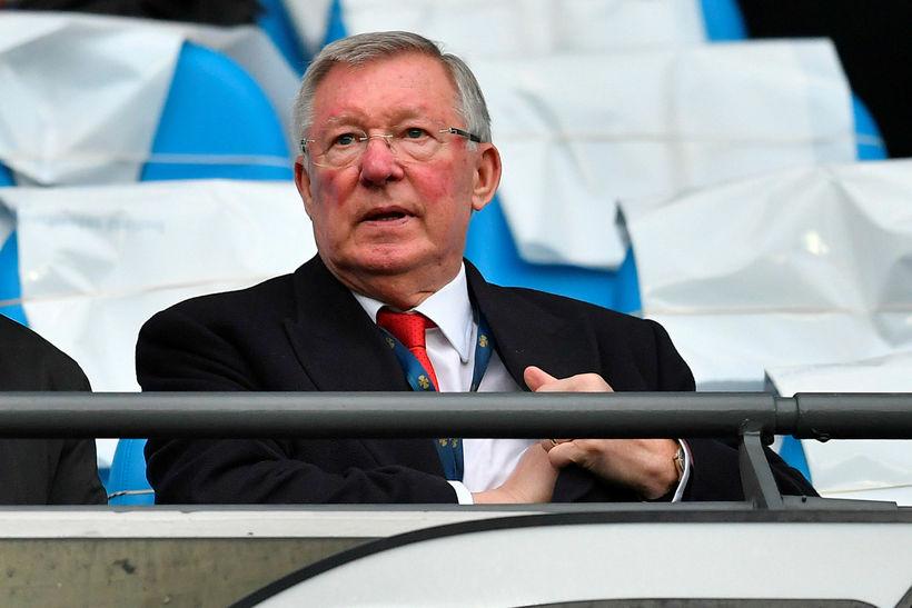 Sir Alex Ferguson vann marga titla með United.