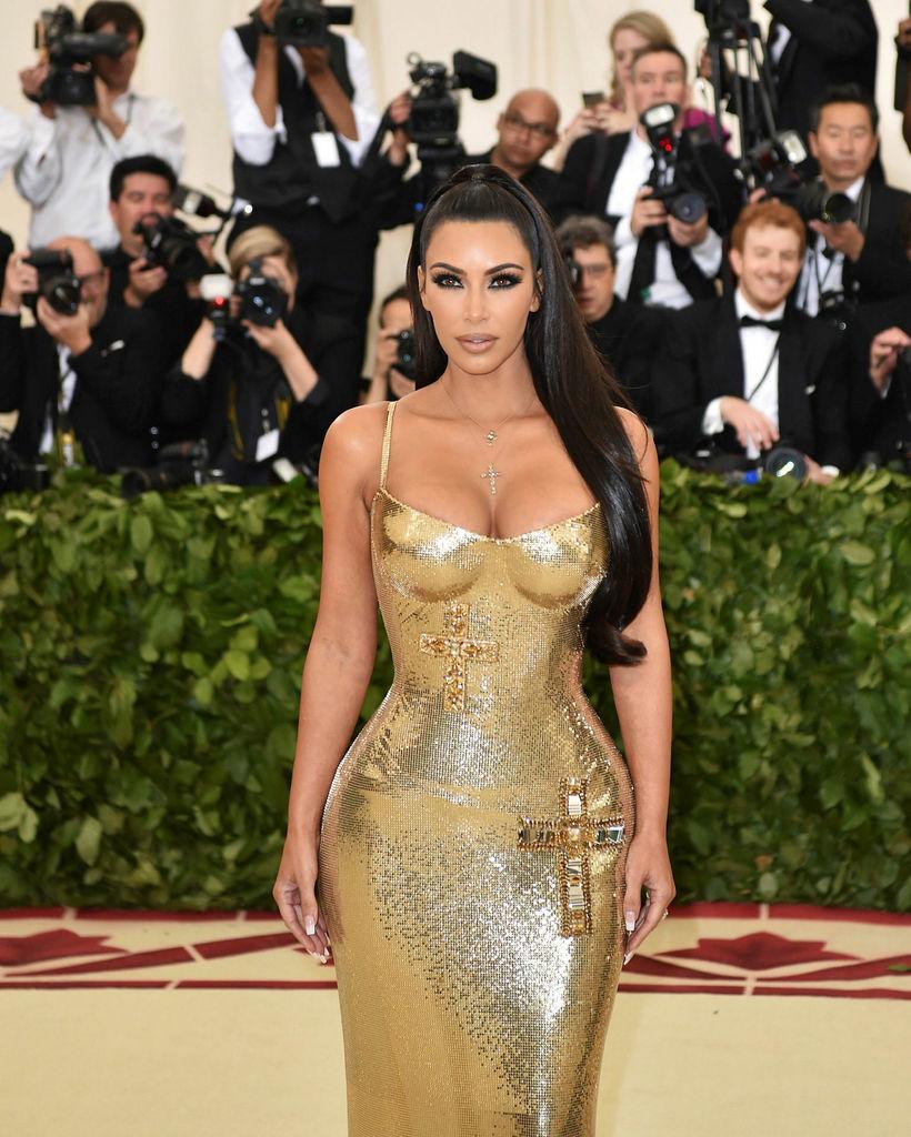 Raunveruleikastjarnan Kim Kardashian West.