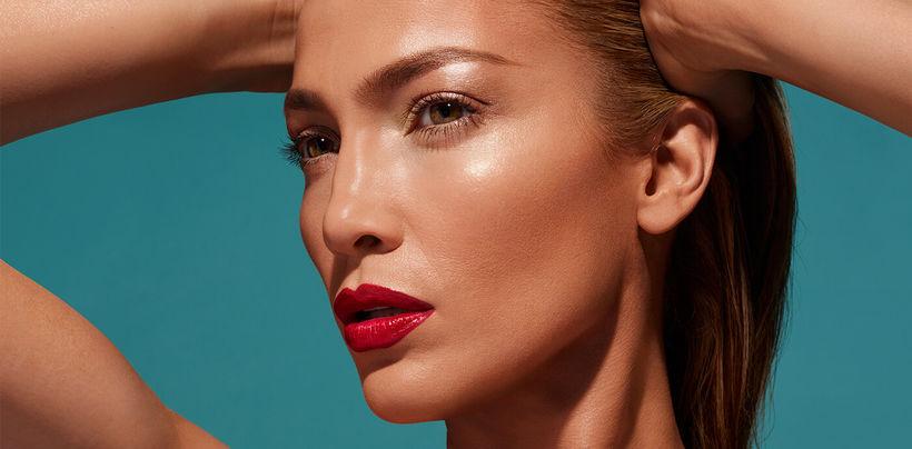 Jennifer Lopez er þekkt fyrir að vera alltaf fallega förðuð.
