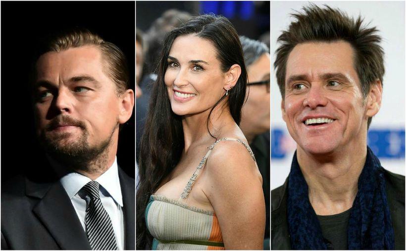 Leonardo DiCaprio, Demi Moore og Jim Carrey ólust ekki upp ...