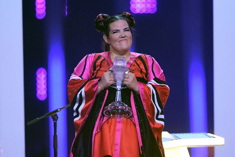 Netta, the winner of Eurovision last Saturday.