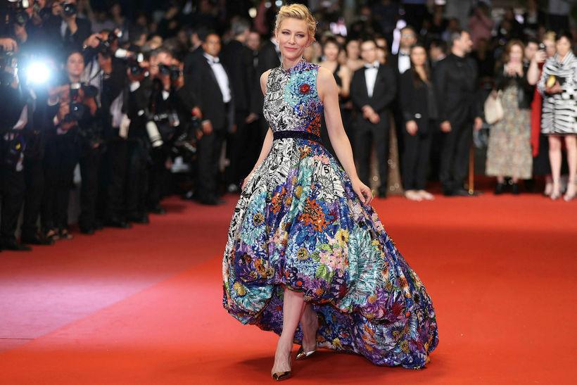 Leikkonan Cate Blanchett.