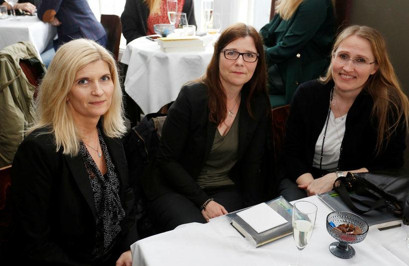 Lára, Guðrún og Stella.