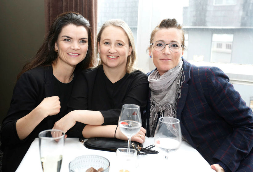 Hrafnhildur, Arna og Helga.