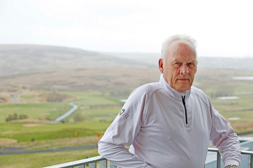 Guðmundur Oddsson er formaður Golfklúbbs Kópavogs og Garðabæjar.